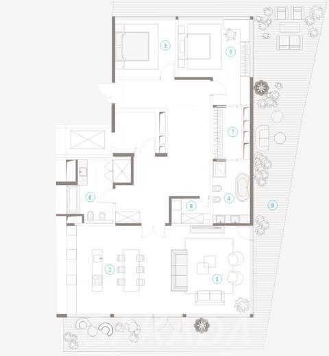 Продаю 3-комн квартиру 157 кв м,  Москва