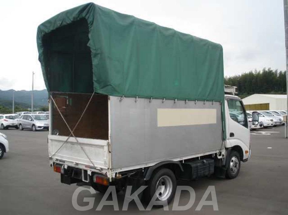 Тентованный фургон грузовик Hino Dutoro, Вся Россия