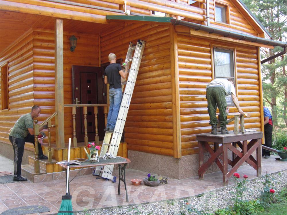 Покраска домов, Вся Россия