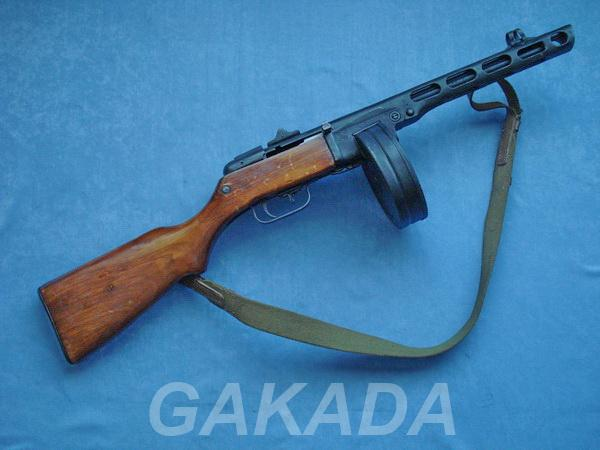 Макет массо-габаритный пистолет-пулемет ППШ-41, Вся Россия