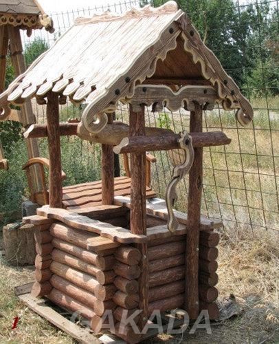 Изготавливаем деревянные колодцы,  Ростов-на-Дону
