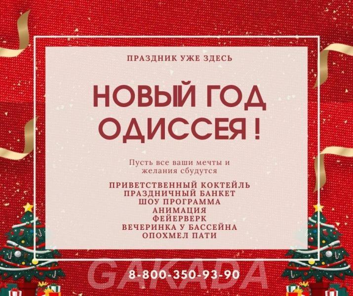 Проведи Новогодние праздники в лучшем санатории Черноморск, Сочи